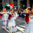 Постер, плакат: NYC: Marchers at Labour Day Parade