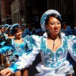 Постер, плакат: NYC: Women Marchers at Mexican Parade