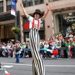 NYC: Mexican Independence Day Parade Stiltwalker — Stock Photo #58160529