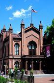 Flushing, NY: Flushing Town Hall — Stock Photo