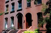 Brooklyn, NY: Brownstones in Brooklyn Heights — Stock Photo