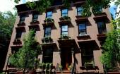 Brooklyn, NY:  Mansion in Brooklyn Heights — Foto de Stock