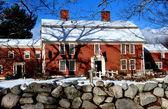 Sudbury, MA: The 1715 Wayside Inn — Stock Photo