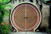 Penang, Malaysia:   Snake Temple Moongate — Stock Photo