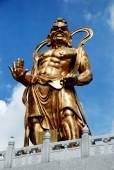 Penang, Malaysia: Guardian Statue at Kek Lok Si Temple — Stock Photo