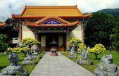 Penang, Malaysia: Pavilion at Kek Lok Si Temple — Stock Photo