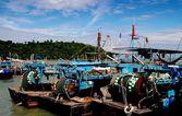 Penang, Malaysia: Fishing Boats — Stock Photo
