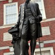 Philadelphia, PA: George Washington Statue at Independence Hall — Stock Photo #59756493