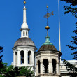 Постер, плакат: Phiadelphia PA: Cupolas of Independence Hall and Old City Hall