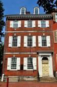 Philadelphia, PA: 18th century Powel House — Foto de Stock