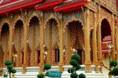 Nakhon Pathom, Thailand: Wat Dai Lom — Stock Photo