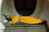 Nakhon Pathom, Thailand:  Wat Phra Pathom Chedi Buddha — Stock Photo
