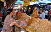 Nakhon Pathom, Thailand: Food Vendors at Festival — Stock Photo