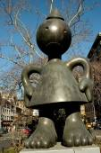 NYC: Tom Otterness Outdoor Sculpture — Stock Photo