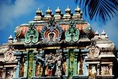 Singapore: Hindu Temple — Stock Photo