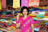 Singapore: Handelaar in Little India — Stockfoto
