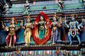 Singapore: Hindu Temple — Stock Photo