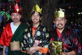 Singapore: Three Wise Men Bearing Gifts — Stock Photo