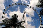 Singapore: Singapore Flyer Ferris Wheel — Stock Photo