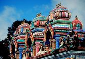 Penang, Malaysia: Hindu Temple on Penang Hill — Stock Photo