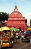Melaka, Malaysia: !753 Christ Church — Stock Photo