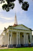 Georgetown, Malaysia: St. George's Church — Stock Photo