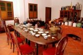 Georgetown, Malaysia: Kitchen at Peranakan Museum — Stock Photo