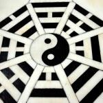 Yang Pin, China:  Ying Yang Symbols at Taoist Temple — Stock Photo #68848269