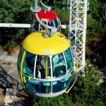 Hong Kong, China: Ocean Park Cable Car Gondola — Stock Photo #69484109