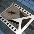 Hong Kong, China: Bruce Lee Star on Avenue of Stars — Stock Photo #69484223