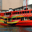 Hong Kong, China: Star Ferry Morning Star Boat — Stock Photo #69484247