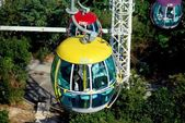 Hong Kong, China: Ocean Park Cable Car Gondola — Foto de Stock