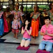 Bangkok, Thailand: People Praying at Erawan Shrine — Stock Photo #71117115