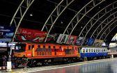 Bangkok,Thailand: Hua Lamphong Railway Station — Stock Photo