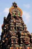 Bangkok, Thailand: Gopuram Tower on Hindu Temple — Stock Photo