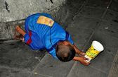Bangkok,Thailand: Child Begging for Money — Zdjęcie stockowe