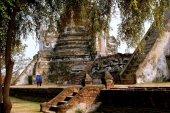 Ayutthaya, Thailand: Wat Phra Si Sanphet — Stock Photo