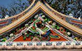 Bangkok, Thailand: Royal Wat Boworniwet — Stock Photo