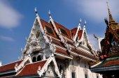 Bangkok, Thailand: Wat Hua Lamphong — Stock Photo
