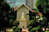 Bangkok, Thailand: Klösterlichen Gebäude am Wat Pathum Wanaram — Stockfoto