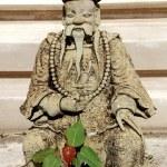 Bangkok, Thailand: Stone Chinese Statue at Thai Temple — Stock Photo #73941567