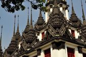 Bangkok, thailand: Loha Prasat — Stock Photo