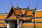 Bangkok, Thaland: Wat Suthat — Stock Photo