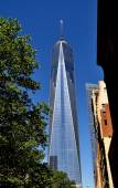 New York City: One World Trade Center Tower — Stock Photo