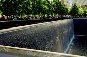 New York City: 9-11 Memorial — Stock Photo