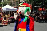 NYC: Asian Performer at Taiwan Festival — Stock Photo