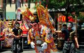 NYC: Performers at Taiwanese Festival — Stock Photo