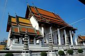 Bangkok, Thailand: Wat Suthat — Stock Photo