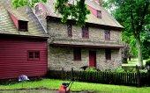 Dilworthtown, Pa: 1704 John Brinton Haus — Stockfoto