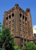New Haven, CT:  Welch Hall at Yale University — Stock Photo